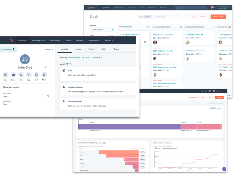 CRM systems manage contacts deals pipelines and more