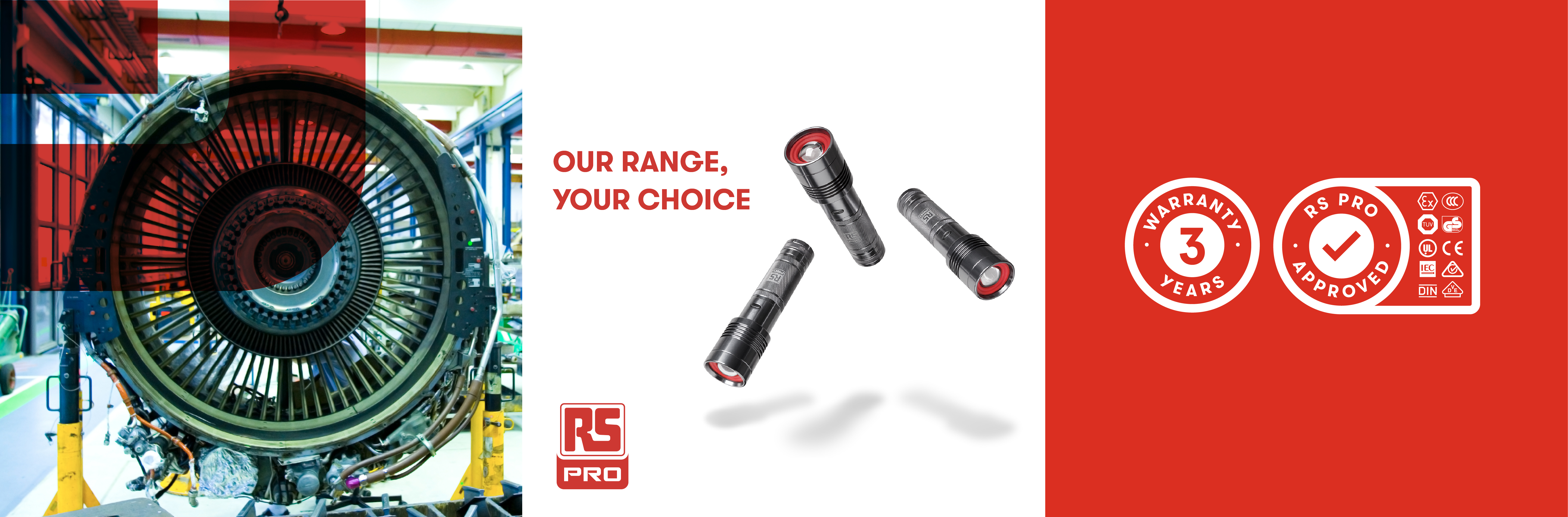 RS PRO. Our Range Your Choice.